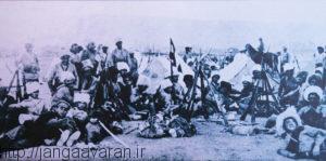 نیروهای ارمنی پیش از آغاز نبرد ساراربارد