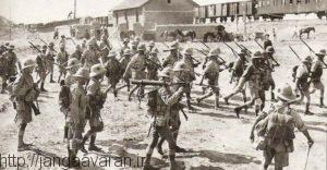 فرارسربازان انگلیسی از باکو باعث شد تا شهر به سرعت سقوط کند