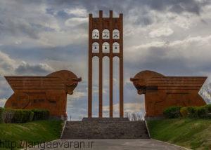 بنای یادبود نبرد سارداربارد در ارمنستان