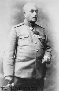 ژنرال نازاریکیان. او علی رغم نفرات و تجهیزات کمتربارها با تشکیل خطوط دفاعی پیشروی های نیروهای ترک را کند کرد