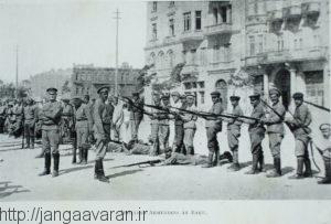 نیروهای محاصره شده ارمنی در باکو