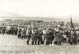نیروهای ارتش عثمانی مانند نیروهای متفقین به خوبی از اوضاع آشفته ایران استفاده کردند و برای تاخت و تاز و ادامه کشتار ارامنه فراری و آشوریان وارد ایران شدند
