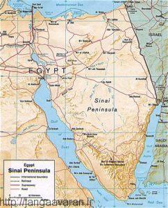 صحرای سینا منطقه بسیارمهمی در طی جنگ جهانی اول بود تا جایی که ارتش آلمان مستقیما برسرتصرف آن با بریتانیا وارد جنگ شد