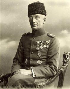 ژنرال فون کرسنشتاین. او طراح اصلی حمله به صحرای سینا و کنترل کانال سوئز بود