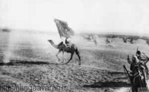نیروهای عرب در نبرد عقبه. سقوط این بندر کوچک پایه گذار سقوط سایر سرزمین های عربی تحت تسلط عثمانی در خاورمیانه گردید