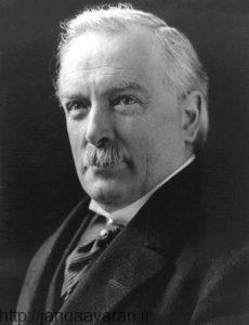 لویدجرج. حضور او درراس دولت بریتانیا باعث شروع شکل گیری دولت یهودی در خاورمیانه شد