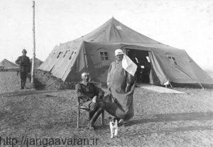 ژنرال فون کرسنشتاین در فلسطین. او به خوبی برای نبرد با ارتش بریتانیا آماده شده بود
