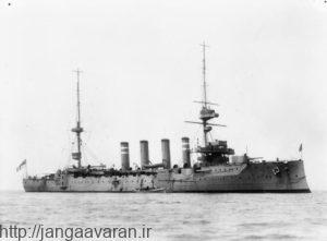 ناوشکن همپشایر که با ژنرال کیچنر توسط زیردریایی های آلمان غرق شد