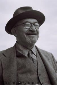 خاییم وایزمن رهبر وقت فدراسیون صهیونیستی. او تلاش زیادی برای راضی کردن دولتمردان انگلیسی برای تشکیل دولت یهودی انجام داد