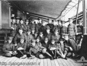 سربازان استرالیایی مستقر در صحرای سینا. سربازان آنزاک که در کوره نبرد گالی پولی آبدیده شده بودند در صحرای سوزان سینا بارها ارتش عثمانی را درهم کوبیدند