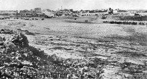 منطقه بئرشبع در 1917. حمله آلنبی به این منطقه ترکها را غافل گیر کرد
