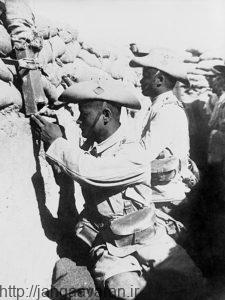 تفنگ داران گورخا در نبرد المغفور