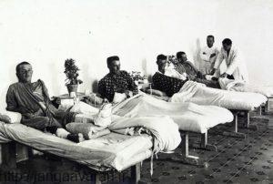 زندانیان جنگی بریتانیایی در بیمارستان نظامی عثمانی