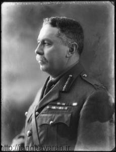 سرپرسی سایکس افسر کهنه کار ارتش بریتانیا. او در مورد سرزمین تازه اشغال شده عراق به لندن هشدار داد