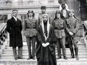 شاهزاده فیصل در پاریس. از بین فرزندان ملک حسین بریتانیا تنها روی فیصل حساب باز کرده بود
