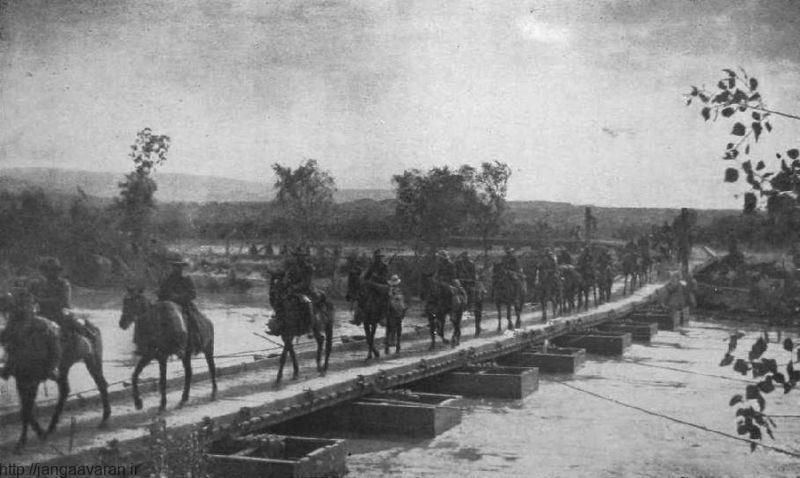پل های موقت نقش زیادی در پیروزی ارتش بریتانیا در خاورمیانه داشت