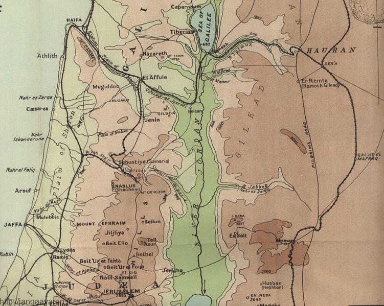 منطقه آغازین نبرد مگیدو