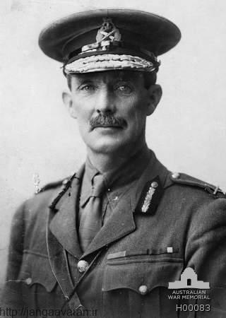 ژنرال چیتور. فرمانده نیروهای چیتور که مامور فتح اردن بود