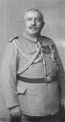 احمد عزت پاشا. با فرار انور و یارانش این ژنرال خوش نام به عنوان صدراعظم انتخاب شد