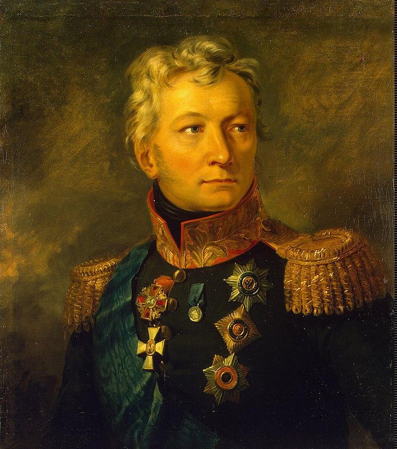 ژنرال تورماسف. بعد از شکست های پی در پی گوودویچ از ارتش ایران تزار او را به جای گوودویچ به فرماندهی ارتش قفقاز برگزید