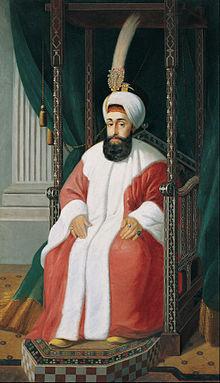 سلطان سلیم سوم. او همزمان با آغاز جنگ های ایران و روسیه به قدرت رسید و بعد از اتحاد با فرانسه و ایران به دنبال جنگ با روسها بود که در یک انقلاب خونین سرنگون شد