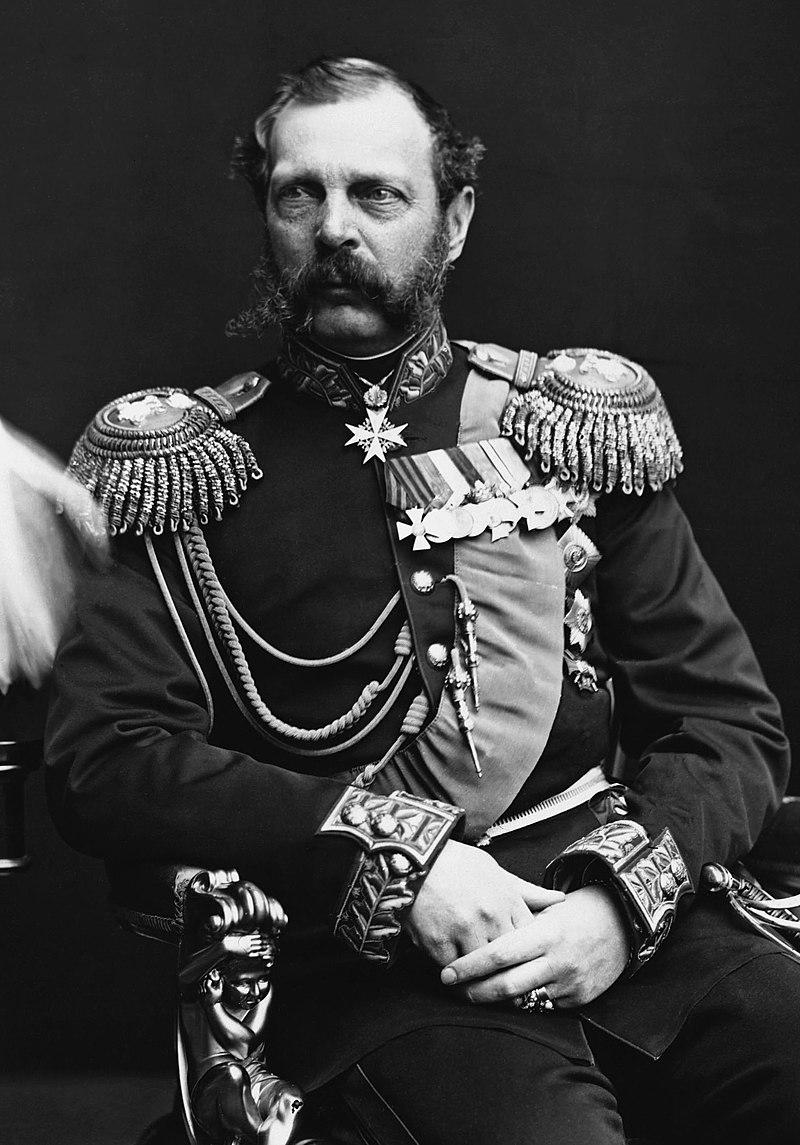 الکساندر دوم . دوره سلطنت این تزار روسیه تقریبا با دوره ناصرالدین شاه همزمان بود و قرارداد آخال و تصرف آسیای مرکزی در دوره حکومت او رخ داد