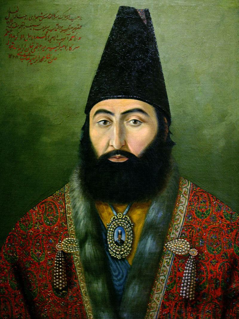 امیرکبیر صدراعظم امیر کبیر. ناصرالدین شاه نیز مانند پدرش سنت وزیرکشی را ادامه داد.