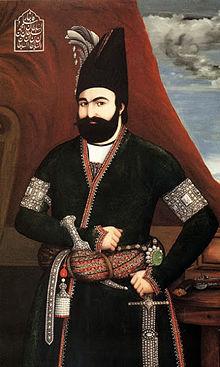 محمد شاه قاجار. او با تدبیر قائم مقام فراهانی و حمایت روسیه به تاج و تخت رسید