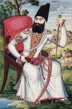 عباس میرزا ولیعهد ایران. او علی رغم همه تلاش هایش در دوره دوم جنگ با روسها نیز شکست خورد