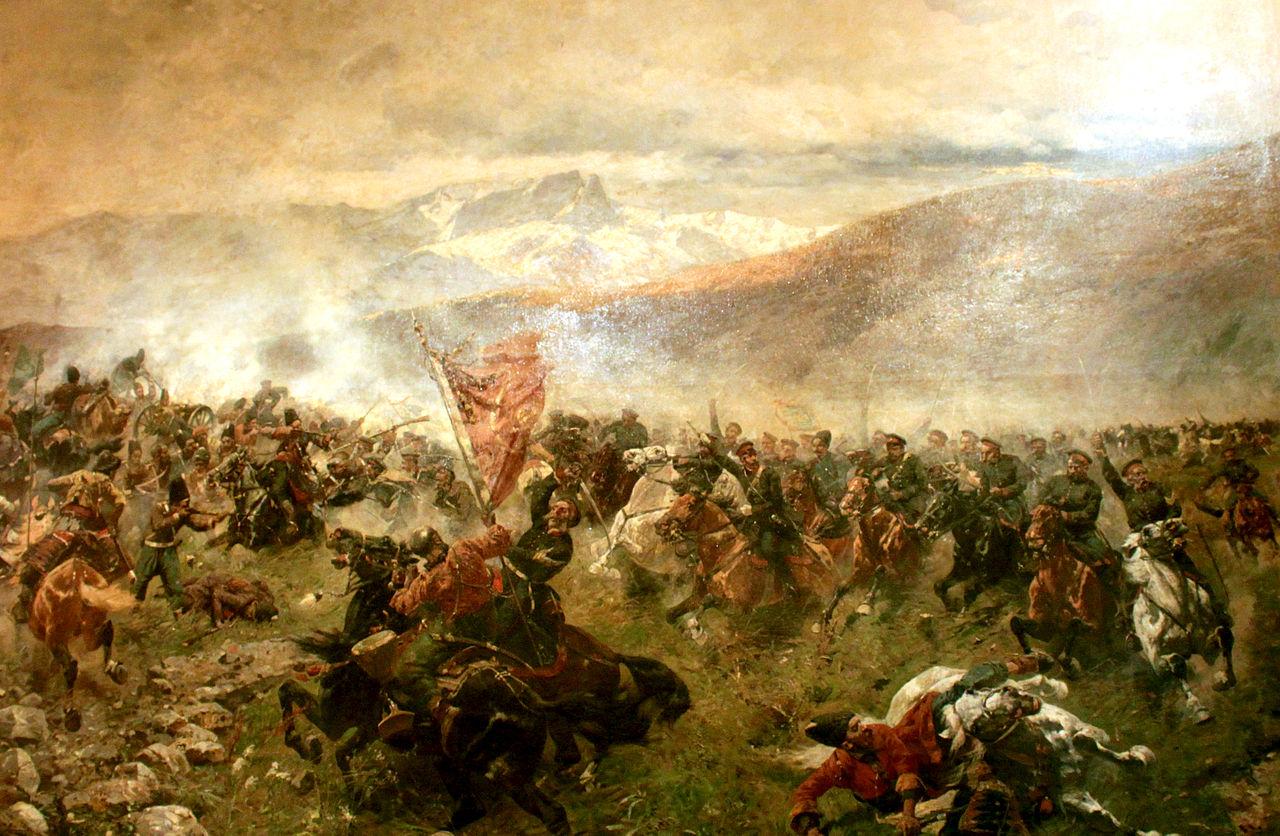 نبرد گنجه. این اولین پیروزی بزرگ روسها در دوره دوم جنگ با ایران بود