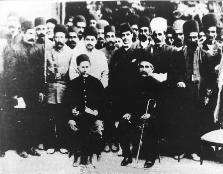 ملاقات سردار اسعد و سپهدار تنکابنی در بادامک