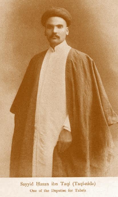 سید حسن تقی زاده یکی از طرفداران اعتدالیون