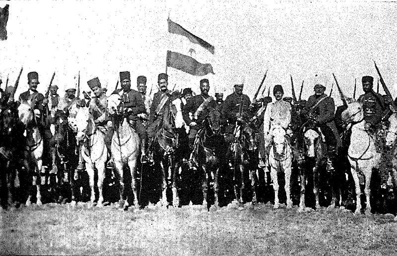 نیروهای دولتی ترکیبی از نیروهای بختیاری و مبارزان قدیمی مشروطه بودند که در نبرد جعفرآباد به پیروزی رسیدند