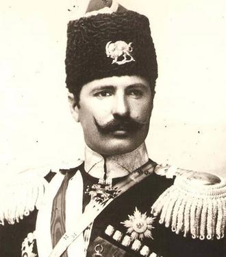شاهزاده ضیا الدوله نایب الحکومه آذربایجان. او مدتی بعد از اشغال شهر به دست روسها خودکشی کرد