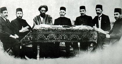 اعضای کابینه دولت موقت در کرمانشاه