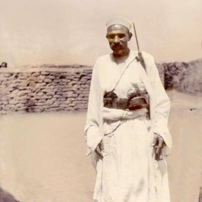 زایر خضرخان اهرمی. یکی از معروف ترین مبارزان ضد انگلیسی جنوب