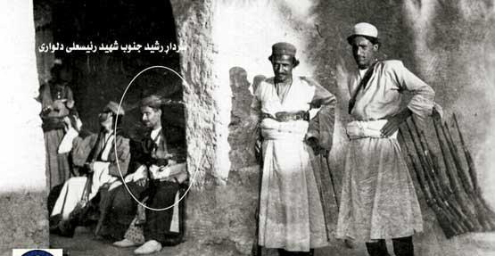 این تنها عکس منتسب به رئیس علی دلواری است. البته برخی مورخان در صحت این عکس تردید دارند
