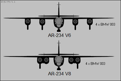 H:\Arado_Ar_234V6_and_Ar_234V8_front-view_silhouettes.png
